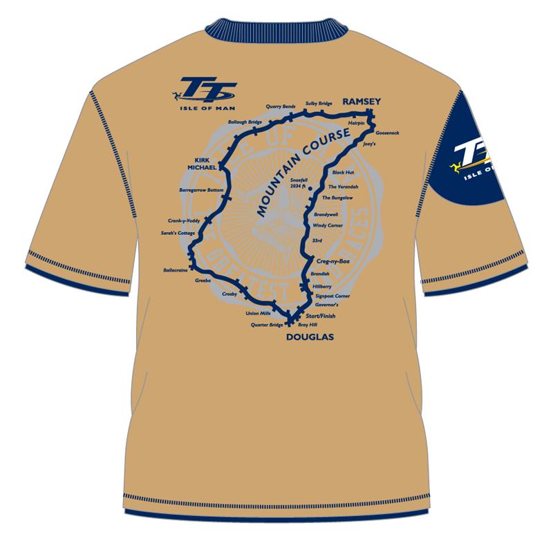 Tt 2014 beige custom t shirt isle of man tt official shop for Custom t shirt shop online