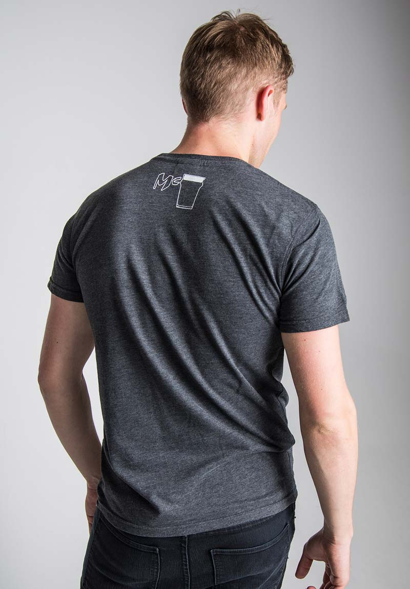 King Of The Road Mens Anthracite T Shirt Isle Of Man