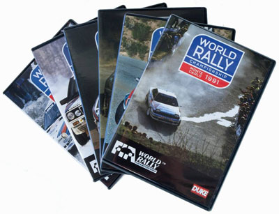 Monte Carlo Rally 1986-91 (6 DVD) Box Set