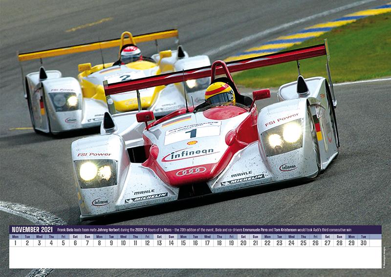 Le Mans Greats 2021 Wall Calendar Duke Video