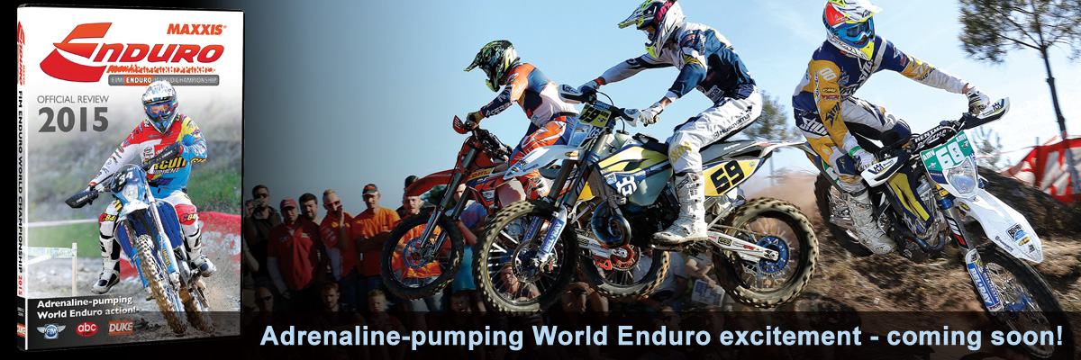 World Enduro 2015 - order now on DVD