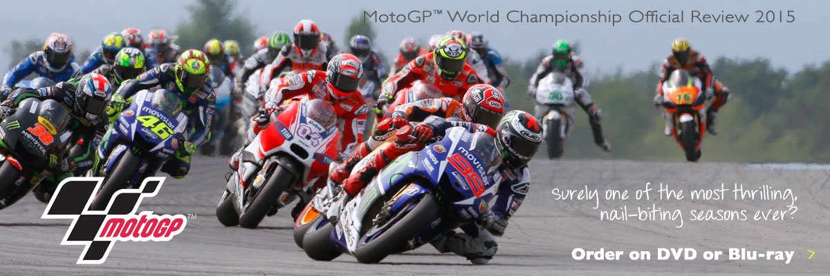Order the Official Review of MotoGP 2015 on DVD or Blu-ray