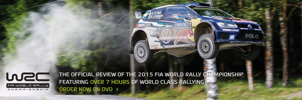 Order the WRC 2015 Review