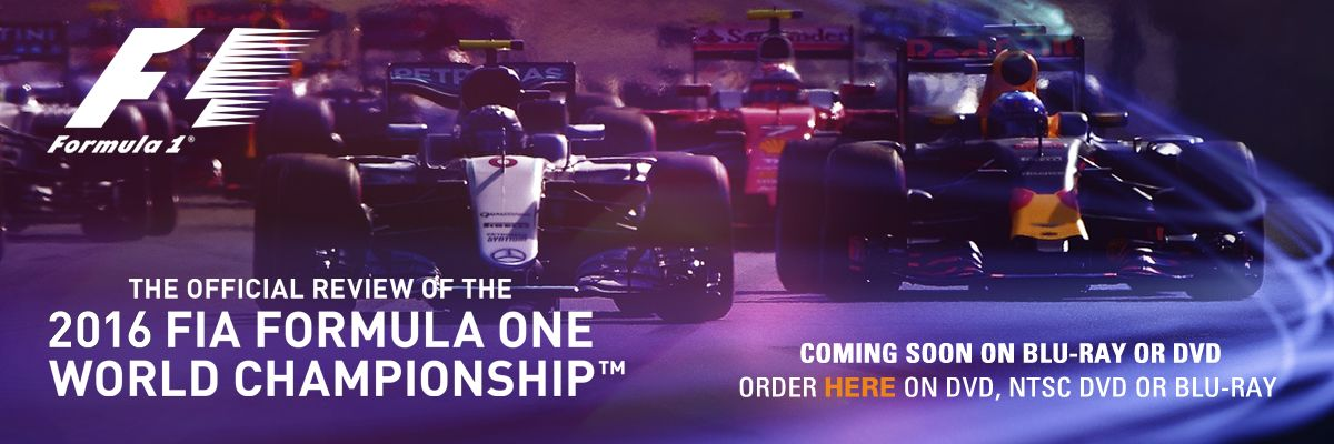 Coming soon the 2016 FIA Formula One World Championship Review on DVD and Blu-ray