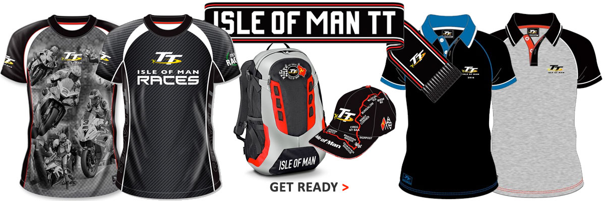 Get ready with the new 2016 TT official clothing range