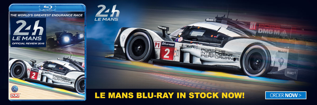Le Mans 2016 Official Review Blu-ray in stock now