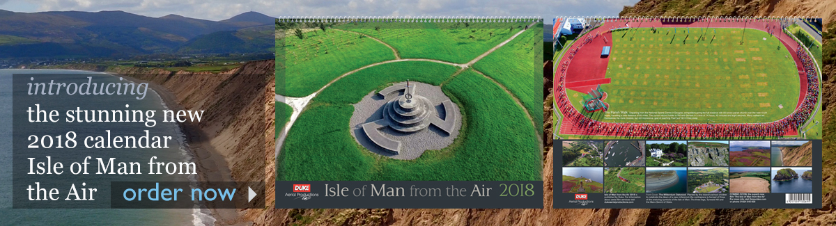 2018 Isle of Man From the Air Calendar