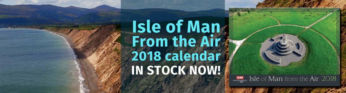2018 Isle of Man From the Air Calendar