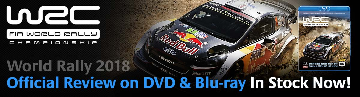 World Rally Championship Blu-ray 2018
