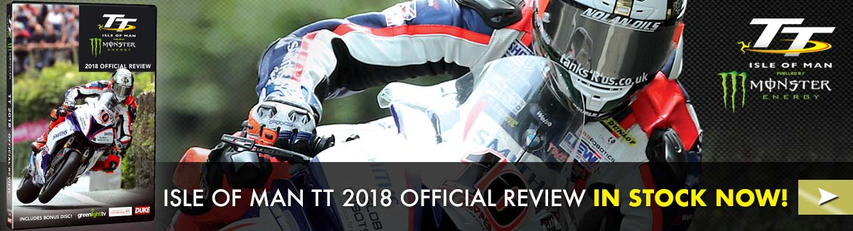 The superb Isle of Man TT 2018 Official Review in stock now