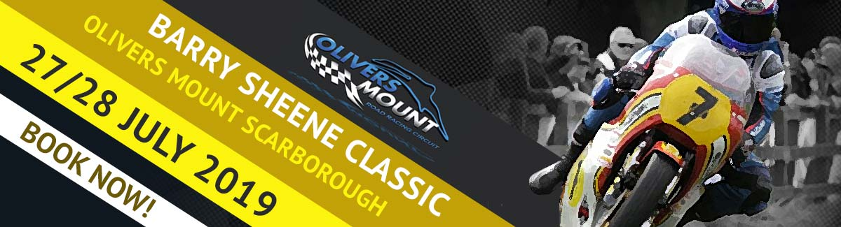 Barry Sheene Classic Races, Olivers Mount Scarborough on sale now via Duke Video