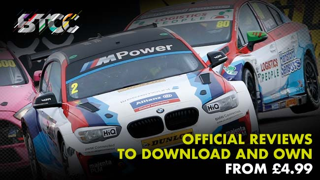 BTCC Official Reviews to download and own from £4.99