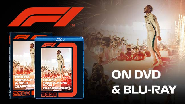 2018 F1 Review on DVD and Blu-ray