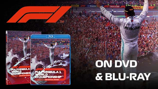 Formula 1® 2019 Official Season Review now in stock on DVD and Blu-ray