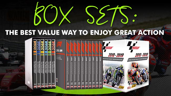 Box sets: the best value way to enjoy great motorsport action from Duke