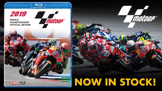 MotoGP 2019 Official Review in stock now on DVD & Blu-ray