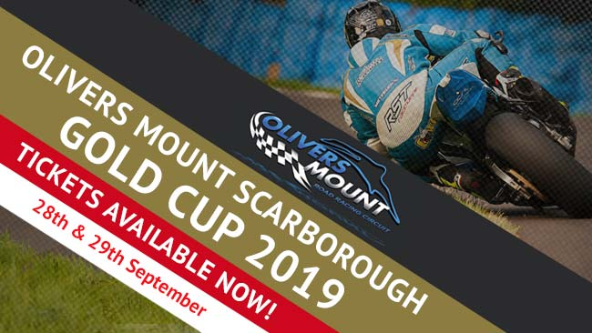 Olivers Mount Gold Cup tickets available to book now
