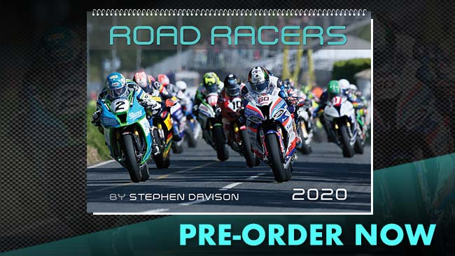 Pre-order the 2020 Road Racers Calendar now