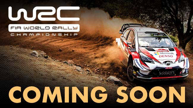 Official Review of the 2019 FIA World Rally Championship coming soon on DVD, Blu-ray and Download