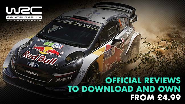Official WRC Reviews to download and own from £4.99