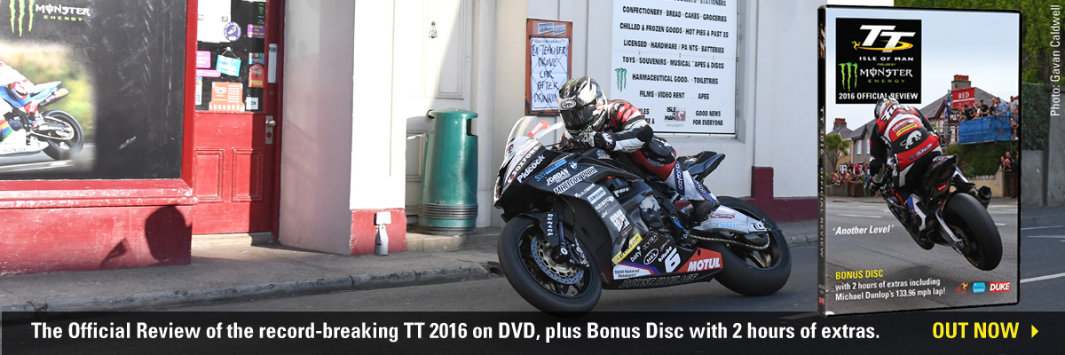 Isle of Man TT 2016 Official DVD Review Out Now