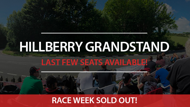 Isle of Man TT 2019 Hillberry Grandstand sold out race week