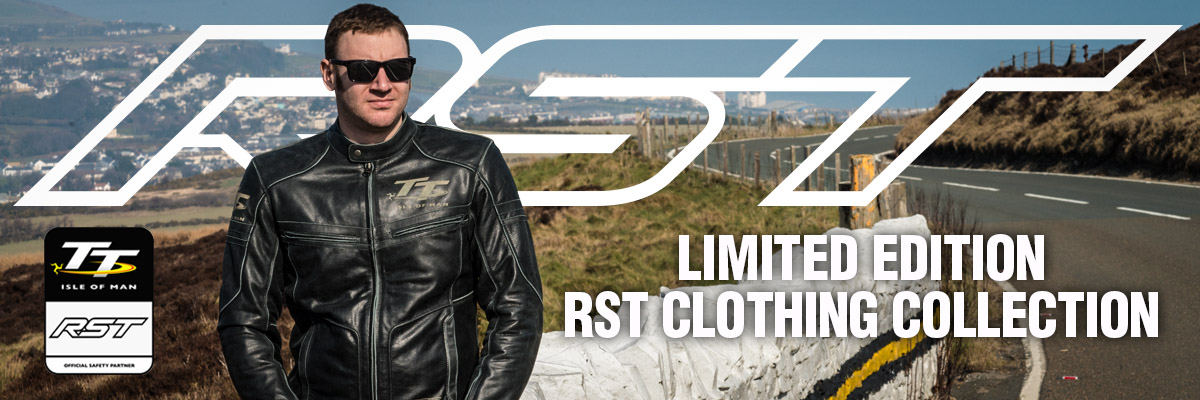 RST Limited Edition Isle of Man TT Clothing